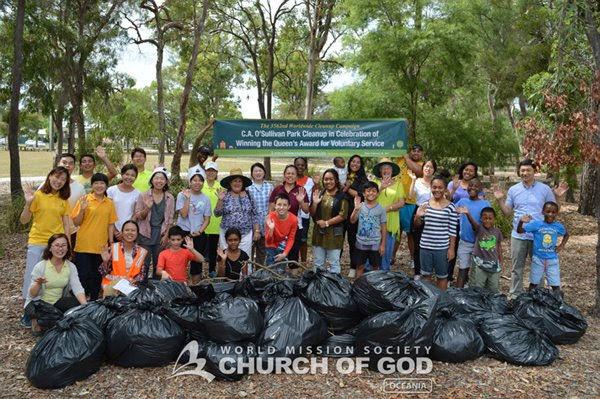 Campaign of Hope through O'Sullivan Park Cleanup, Brisbane