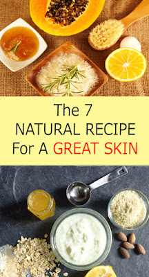 NATURAL RECIPE FOR GLOWING SKIN