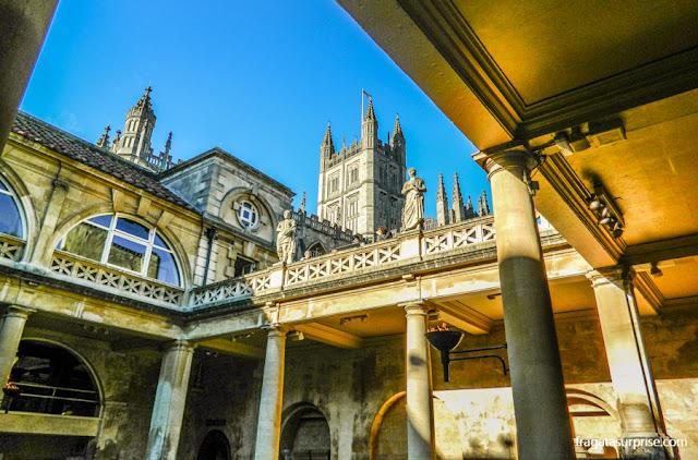 Termas Romanas de Bath, Inglaterra