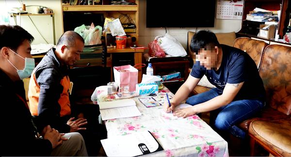欠債遭強押違反居家隔離 彰化分署協助報案撤罰