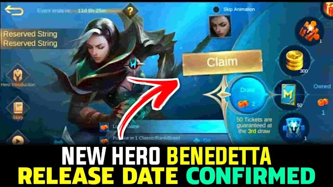 Benedetta Release Date || Mobile Legends