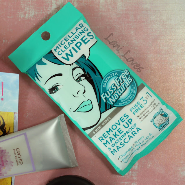 Essenzza Fuss Free Naturals Micellar Mini Wipes review