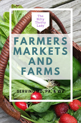 Farmers Markets in Maryland, Pennsylvania, and West Virginia