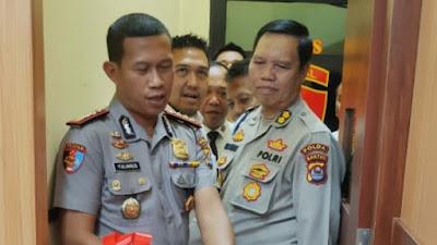 Kabid Propam Polda Banten Launching Ruang Pelayanan Urlitpers Subbidpaminal Bidpropam Polda Banten