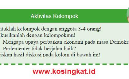 Kunci Jawaban IPS Kelas 9 Halaman 248 Aktivitas Kelompok
