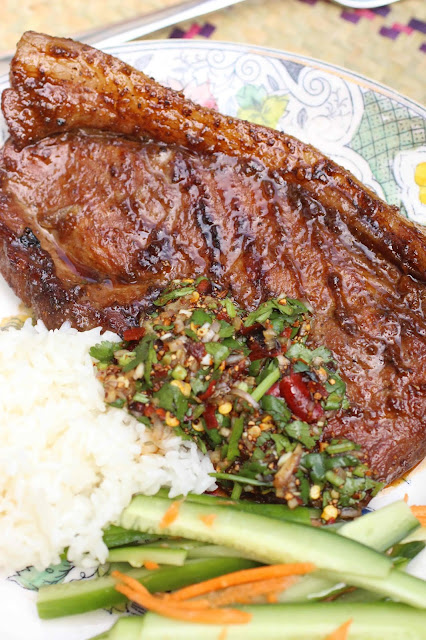viande grillee laos sauce piquante