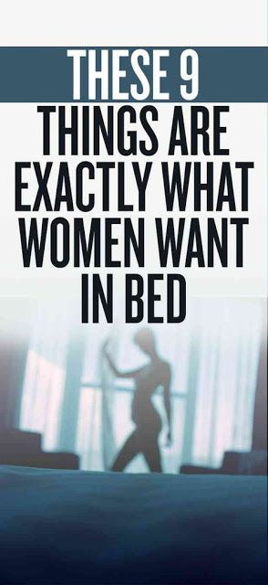 The 9 EXACT Things Women Want Men To Do In Bed