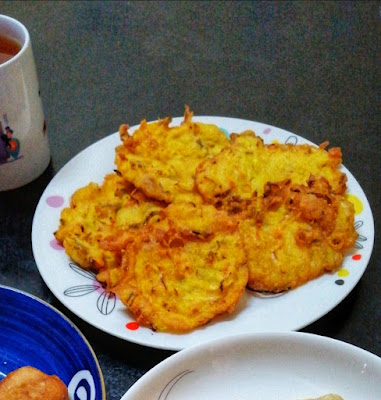 Sarapan Pagi Bakwan Sayur