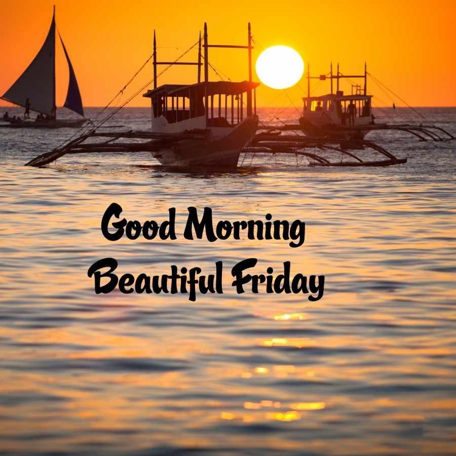 friday good morning image