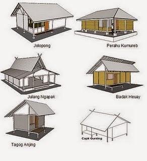 Desain Rumah Tradisional Betawi Gambar 08