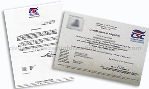Civil Service Exam PH: How to claim Certification of Eligibility