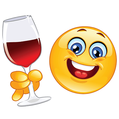 Red wine emoji
