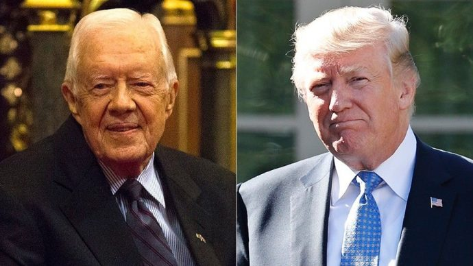 Media-hard-on-Trump-than-any-other-President-–-Jimmy Carter