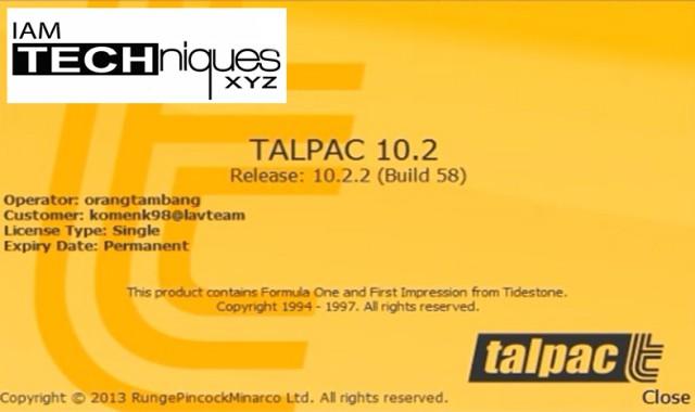TALPAC v10.2