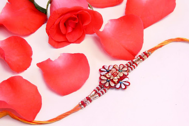 Decorated Rakhi Images