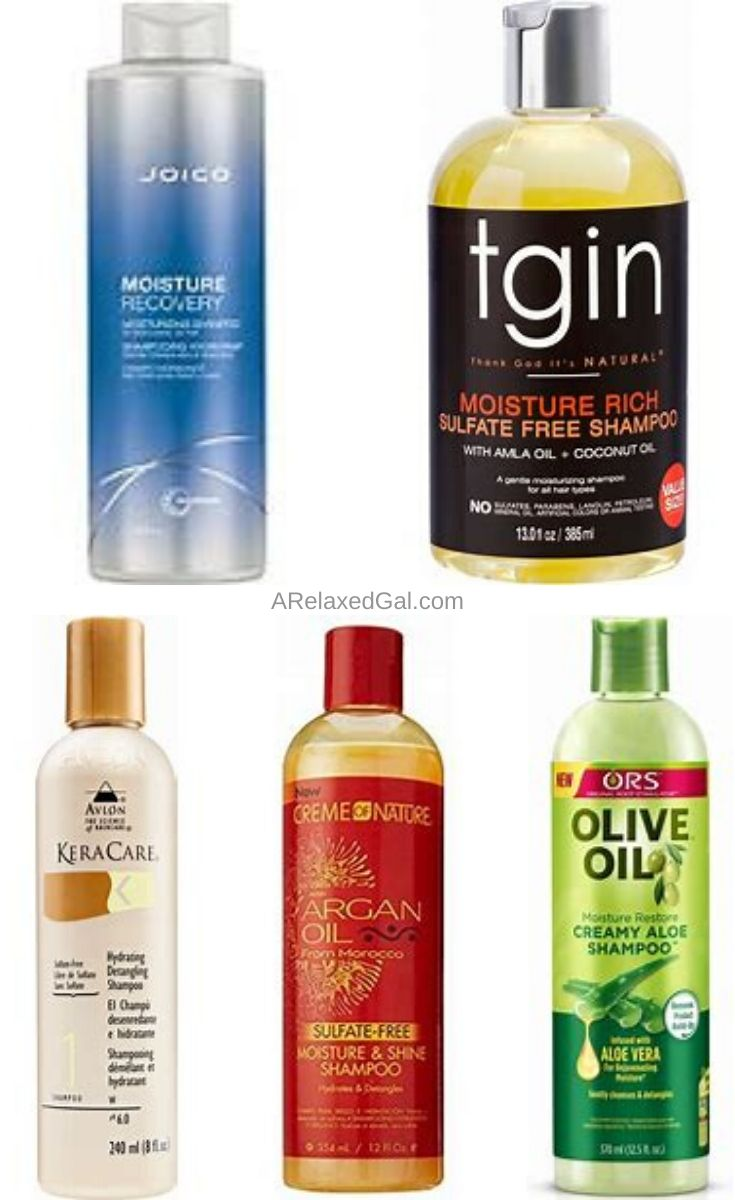 Moisturizing Shampoos For Relaxed Hair | A Relaxed Gal