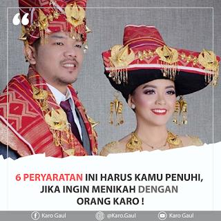 pernikahan adat suku karo