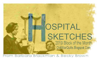 Hospital Sketches: Applique BOM Quilt