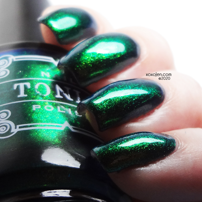 xoxoJen's swatch of Tonic #BLM