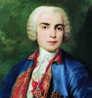 The castrato singer Farinelli, like Scarlatti, enjoyed the patronage of the court of Madrid