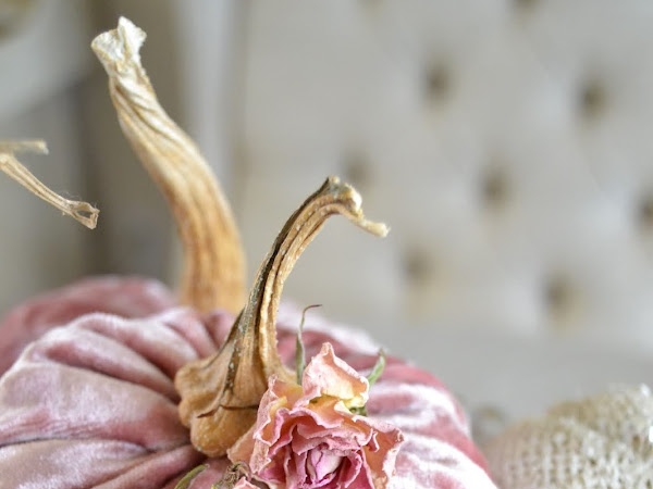 How to Create Beautiful Velvet Pumpkins and Very Delicious Pumpkin Chocolate Chip Bars