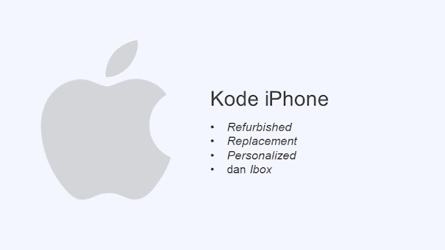 kode iphone refurbished replacement personalized dan ibox
