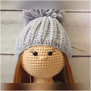 patron amigurumi Muñeca Molly crochet y amigurumis