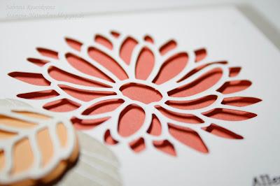 Framelits Blumenkreationen