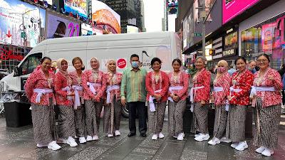 Sah! Cafe Dangdut New York Hentak Times Square