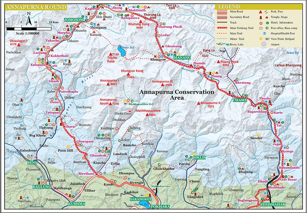 2 Wheel Vagabond Annapurna Circuit Nepal