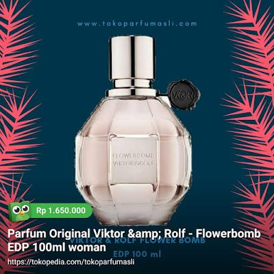 toko parfum asli parfum original viktor & rolf flower bomb edp 100ml woman