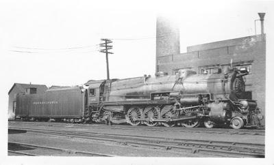 Joseph A  Smith Collection: Pennsylvania Railroad Steam