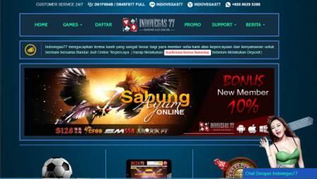 Indovegas77.com Situs Agen Bola Online, Casino Online, Sabung Ayam Sportsbook terpercaya Di Indonesia