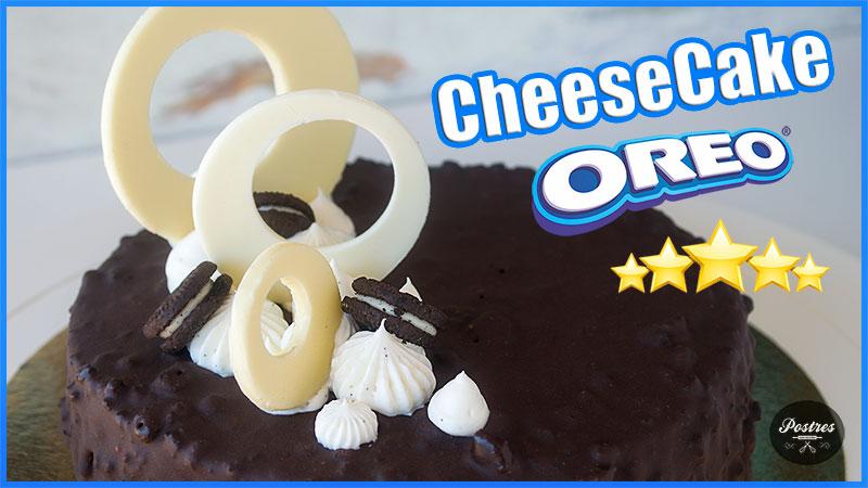 receta paso a paso de tarta CheeseCake de Oreos