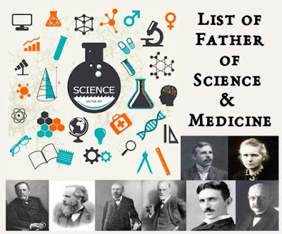 List of Father's of Science