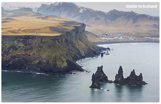 Paysage Islande Macareux