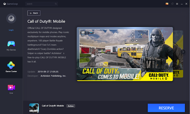 Call Of Duty Official Tencent Gaming Buddy Resmi di Rilis