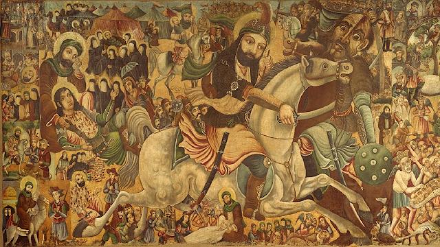 "Pintura ""A Batalha de Karbala"""