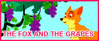The fox and the grapes full story in english