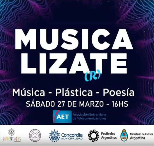 MUSICALIZATE: JÓVENES ARTISTAS CONCORDIENSES SE VERÁN EN TODA LA PROVINCIA Y LA REGIÓN