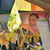 Tak Ada Nama Jokowi-Amin di Kampanye Akbar DPD Golkar Sidimpuan