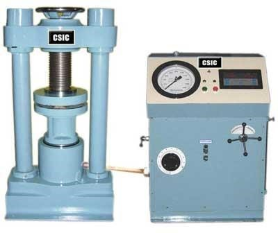 Compressive Strength of Concrete Cubes by Compression Testing Machine