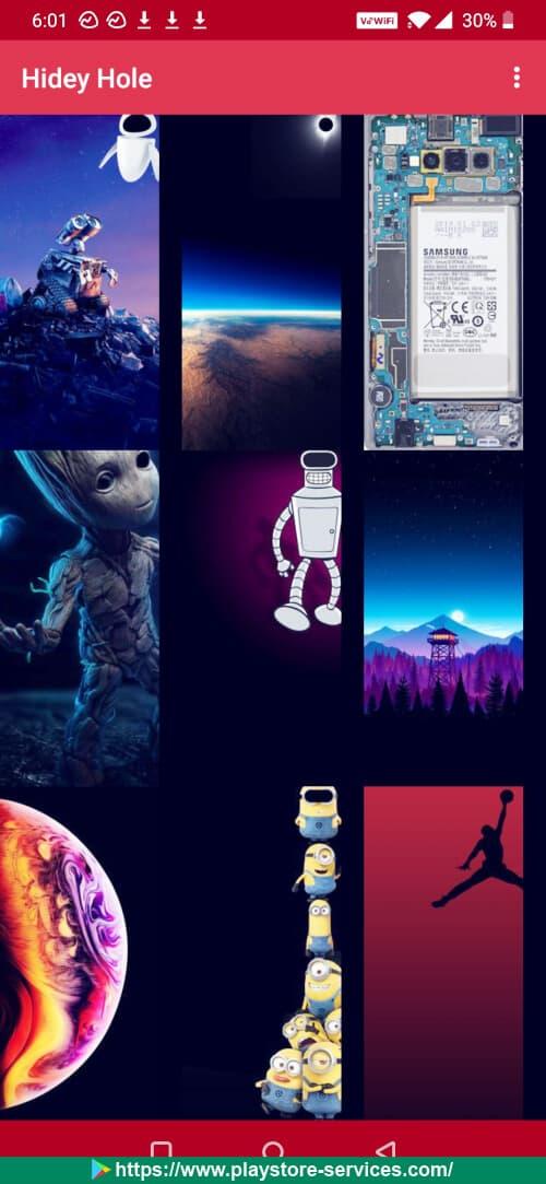 تطبيق خلفيات شاشة هاتفك الأندرويد 2020
