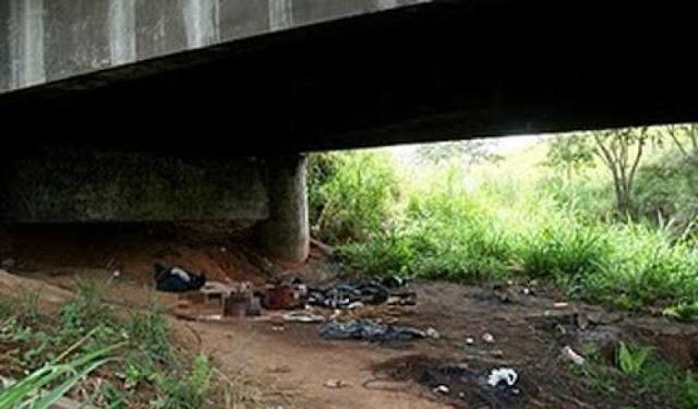 Resultado de imagem para Corpo de idoso é encontrado embaixo de ponte de riacho na zona rural de Triunfo