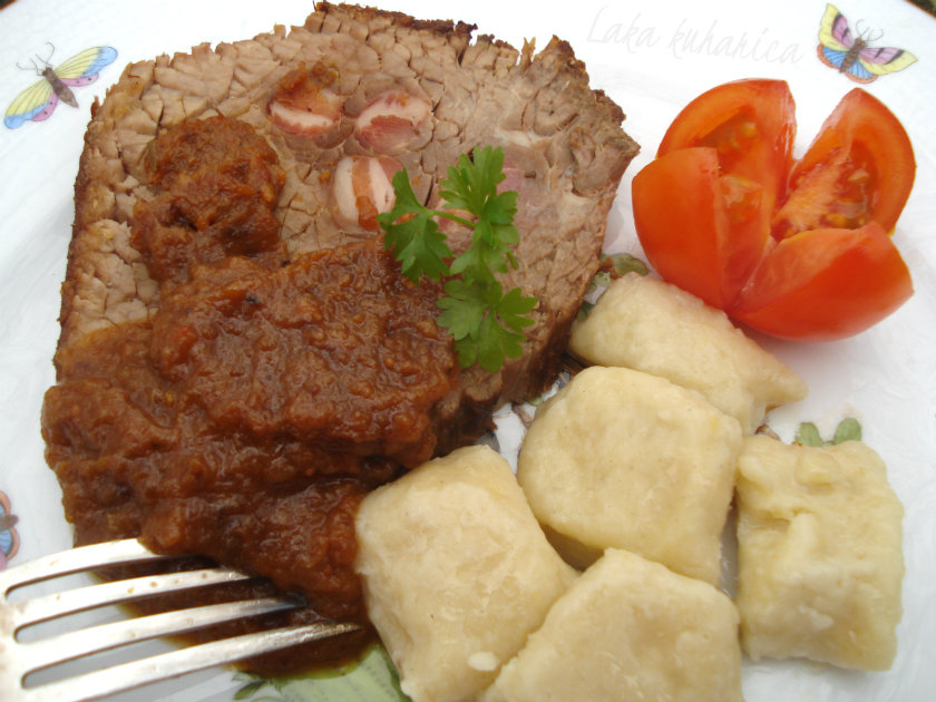 Beef pastissada with gnocchi by Laka kuharica: pot roast in a very special sauce is the holy grail of Croatian holiday cooking.