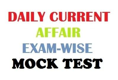 Daily current Affair mock quiz