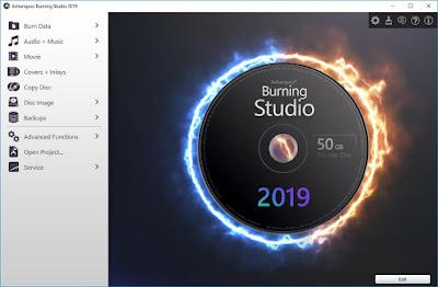 Ashampoo Burning Studio 2019 free full version download, serial number, license key, activation key, lizenzsclüssel