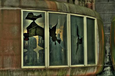 Lugar abandonado y semi destruido