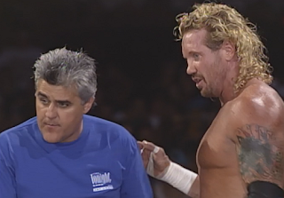WCW Road Wild 1998: Jay Leno & Diamond Dallas Page
