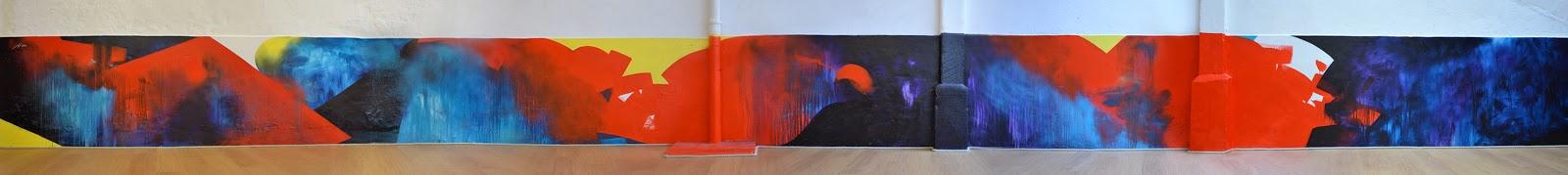 artiste peintre jean baptiste besançon bordelais decoration abstraite crossfit